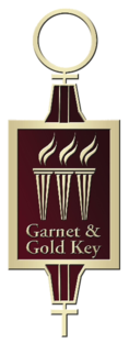 Garnet and Gold Key